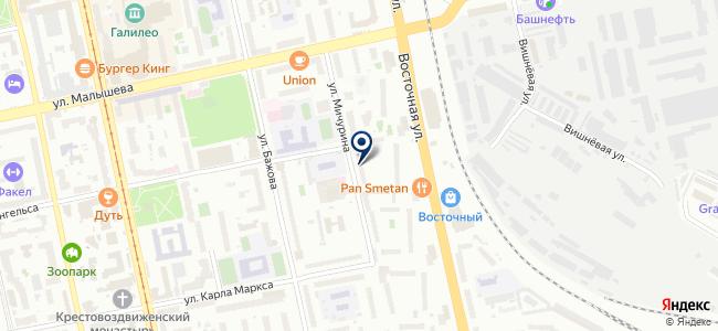 УРАЛ-Электрокомплект, ЗАО на карте