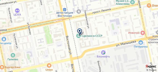 М Электро, ЗАО на карте