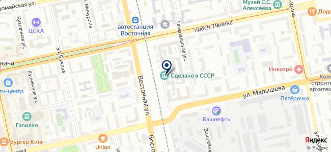 Centre LED на карте