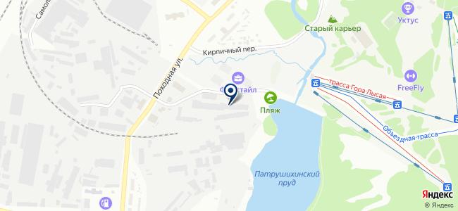 УралЭлектроМашСервис, ООО на карте