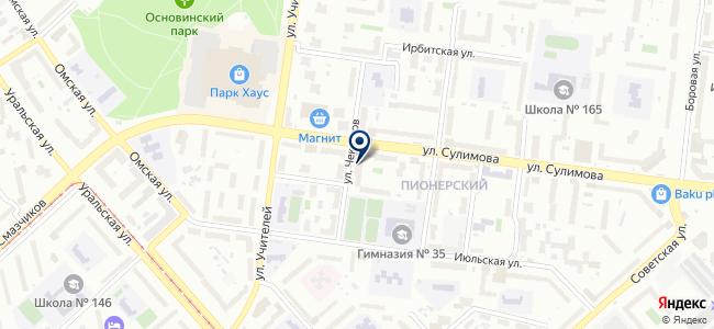 Синтур, ООО на карте