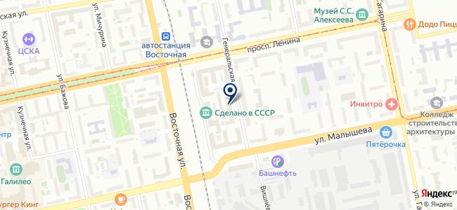Тензор на карте