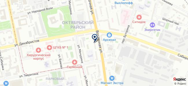 Центр СК на карте