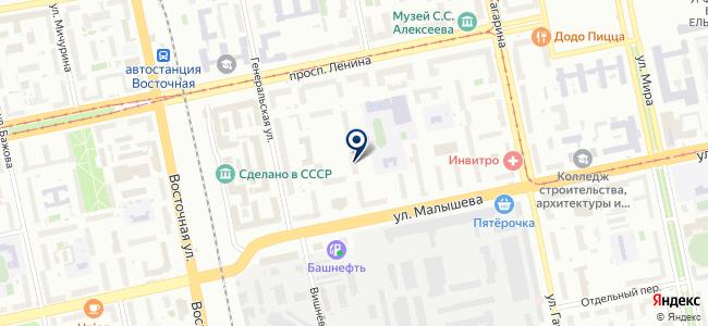 Бастион-Урал, ООО на карте