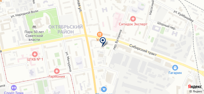 Трудовик на карте