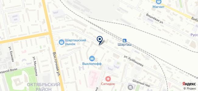 Констант Электрик на карте