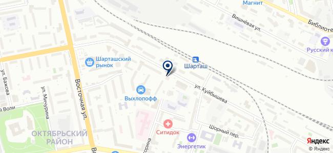 Водомер на карте