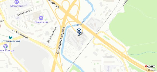 Opel-Сервис на карте