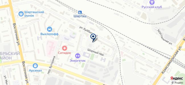 ДомИзКедра96.рф на карте