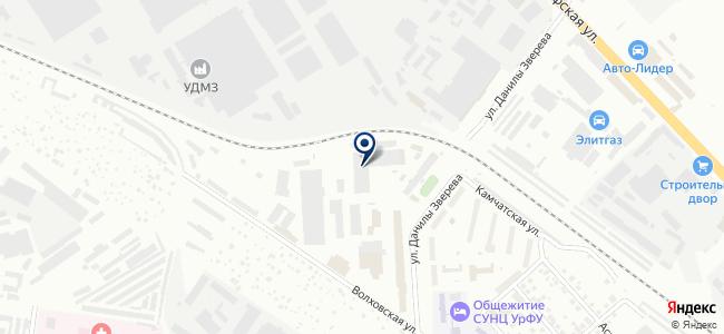 НК-Евразия, ООО на карте