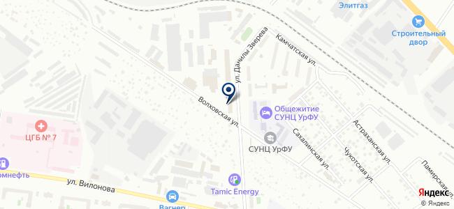 ЭПК, ООО на карте