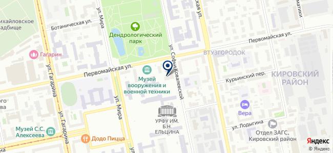 ТЭСС-Урал, ООО на карте