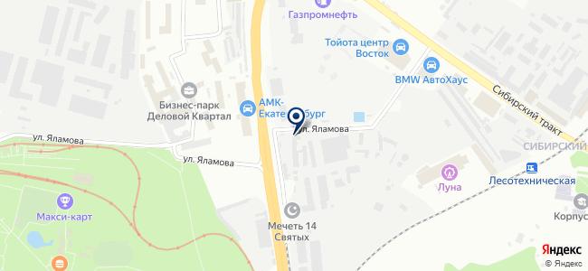 УралСервисТрейдинг, ООО на карте