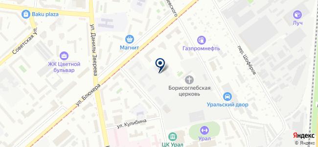 ЭнТерра, ЗАО на карте