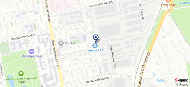 Velvet на карте