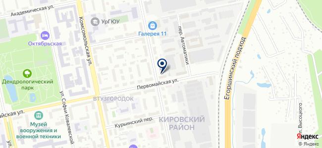 АтомПроект, ООО на карте