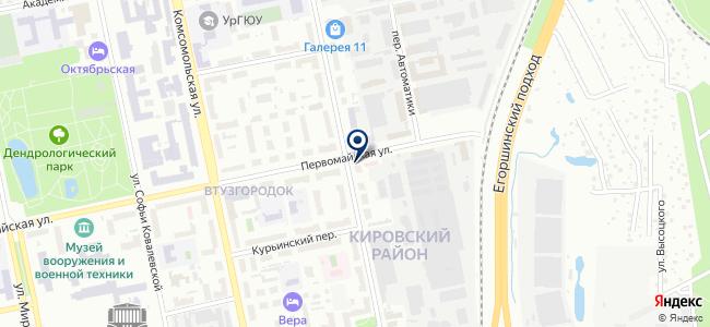 Реле Автоматика ЕК, ООО на карте