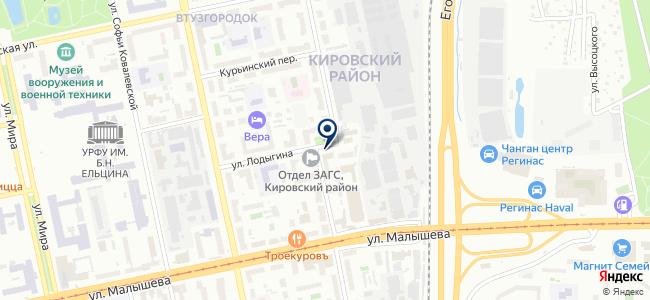 ИрбисТеплоТехника, ООО на карте
