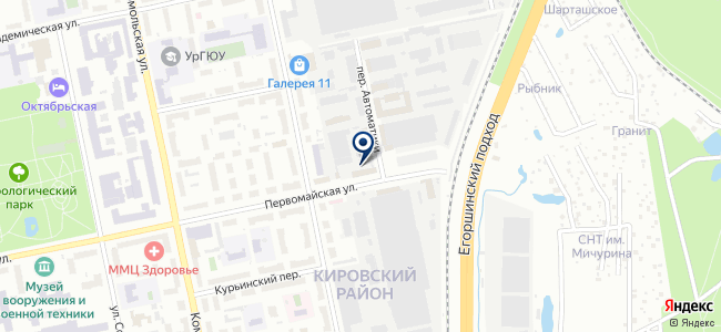Уралсервислес, ООО на карте
