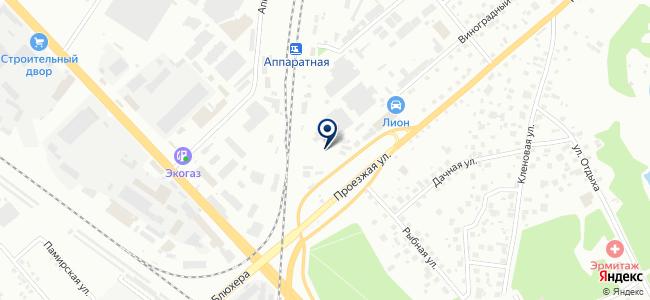 Энергосистемы+, ООО на карте