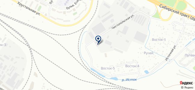 Инверто, ООО на карте