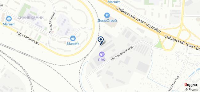 НТБЭ, ООО на карте