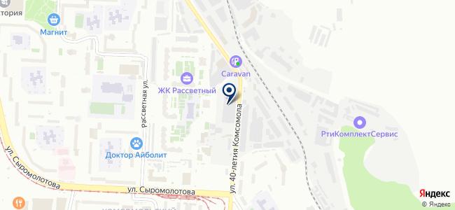 Профилекс, ООО на карте