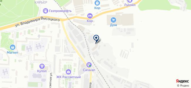 ПромСтройОборудование, ООО на карте