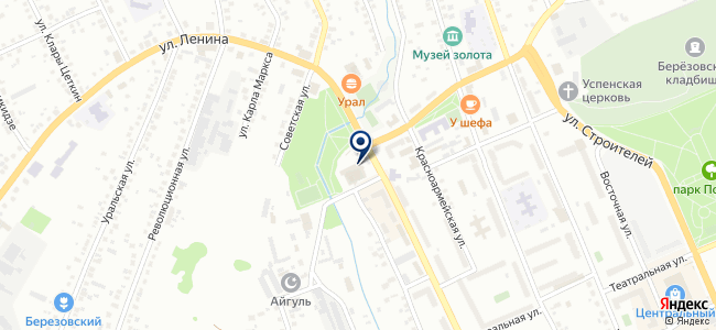 МИР ТВ на карте