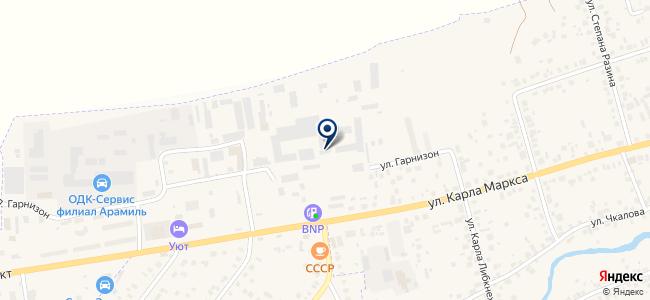 СИП кабель, ООО на карте
