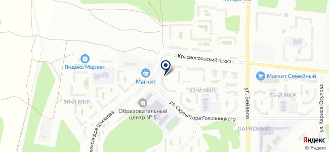 Интеграл-Сервис, ООО на карте
