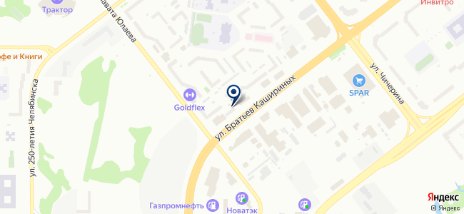 Данила-Мастер на карте
