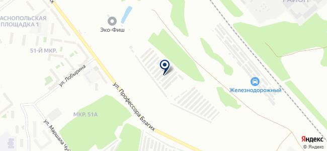 АляуМоторс на карте