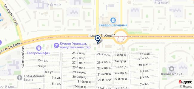 Элерон на карте