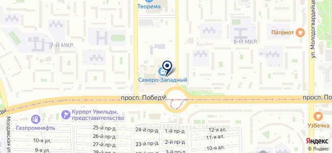 Центр теплых полов на карте