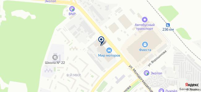 ЕПК на карте