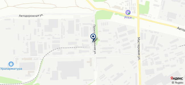 Борей, ООО на карте