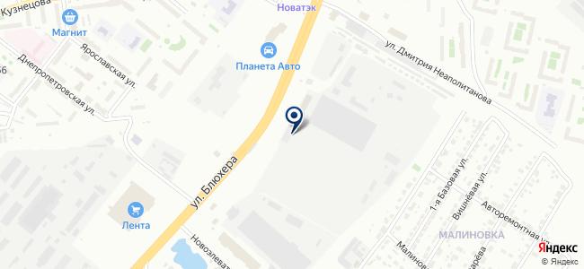Челябинский автоматно-механический завод, ФГУП на карте