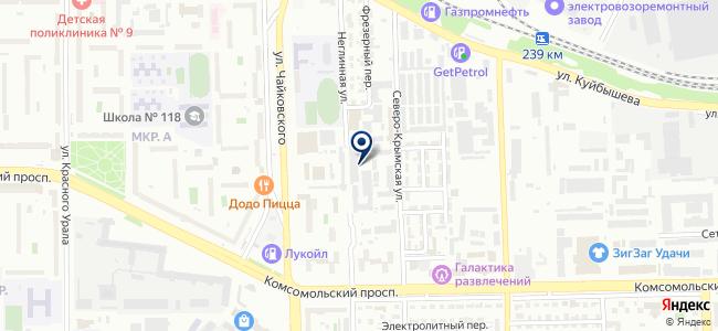 ЭФ-СИ-ЭС Урал, ООО на карте