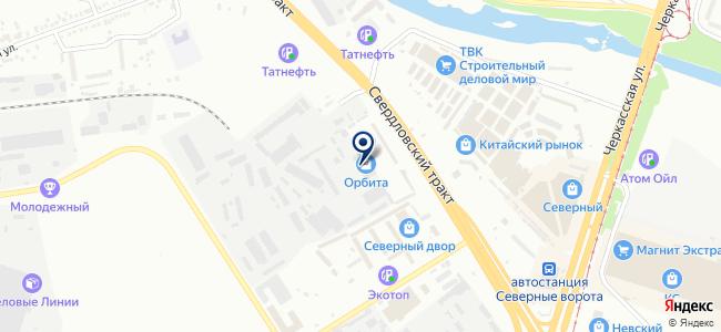 Инструмент-Импорт, ООО на карте
