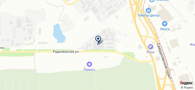 ФорсСнаб, ООО на карте