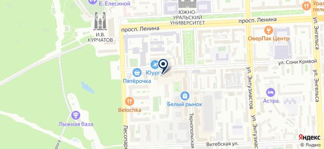 ЧелябСпецСтрой, ООО на карте