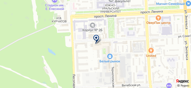 Уралсибпромсервис, ЗАО на карте