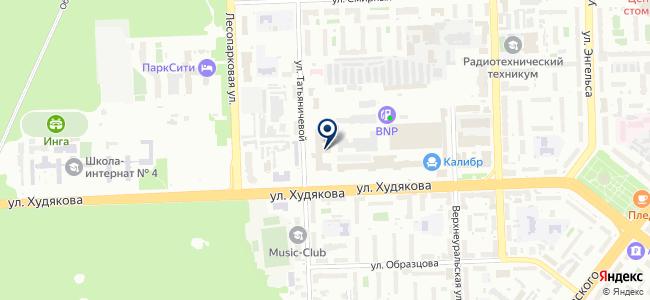 Русский свет, ООО на карте