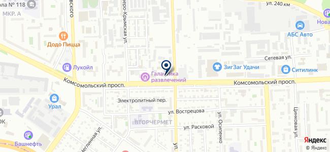Sirius на карте