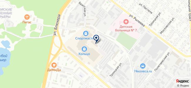 Уралпромтехцентр на карте