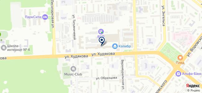 Элитар на карте