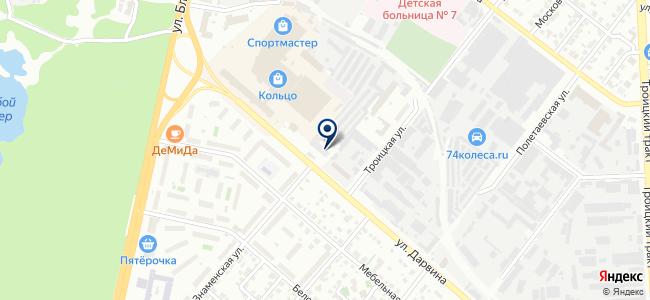 Астра-Сервис на карте