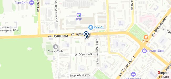 Das Interier на карте