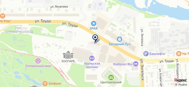 Хрусталь на карте